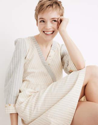 8210daae05 Madewell x The New Denim Project Stripe-Mix Dress