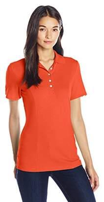 Lee Indigo Women's Short-Sleeve Polo Shirt