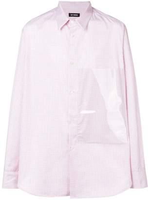 Raf Simons plastic panel shirt