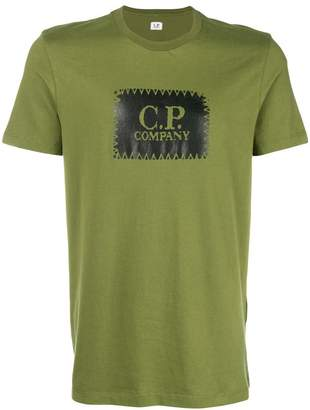 C.P. Company logo printed tee