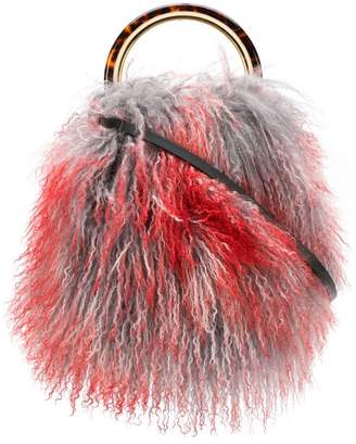 Marni pannier bag in coloured lamb skin