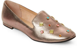 Katy Perry Bronze Turner Embellished Loafers
