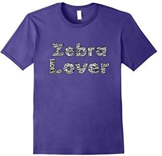 Zebra Lover T Shirt For Zebra Lovers Animal Print