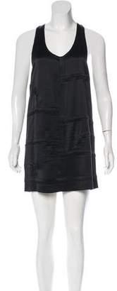 Alexander Wang Pleated Satin Dress