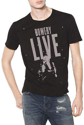 John Varvatos Bowery Live Graphic Cotton T-Shirt