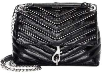 Rebecca Minkoff Edie Beaded Chain Leather Crossbody Bag