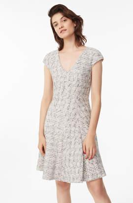 Speckled Tweed Dress