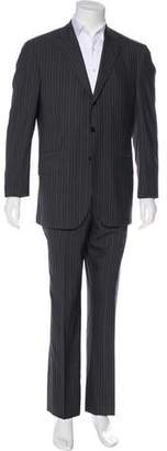 Etro Pinstriped Two-Piece Suit