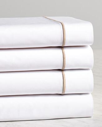 Frette One Bourdon Khaki Line Sheet Set