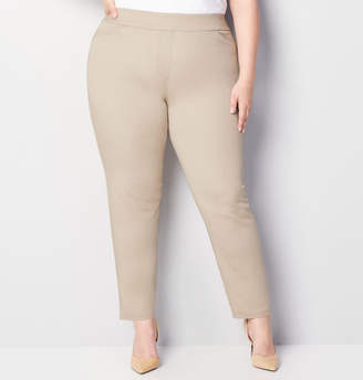 Avenue Cotton Super Stretch Pull-On Pant