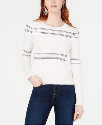 French Connection Skye Cotton Knit Sweater