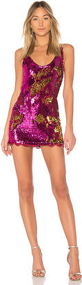 Free People Seeing Double Sequin Slip Dress
