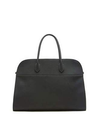 The Row Margaux 17 Calfskin Top Handle Bag