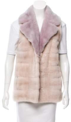 Oscar de la Renta 2016 Mink Fur Vest w/ Tags