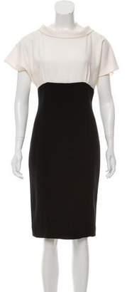 Amelia Toro Wool Knee-Length Dress