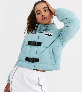 Fila padded jacket with clips