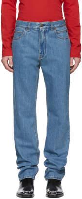 Calvin Klein Blue Straight Jeans