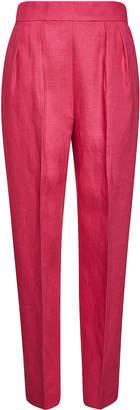 Theory High Waisted Linen Pants