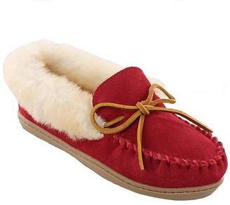 Minnetonka Leather Moccasin Slippers - Alpine