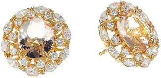 Nina Raven Crystal Stud Earrings Earring
