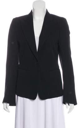 Ann Demeulemeester Peaked Lapel Button-Up Blazer