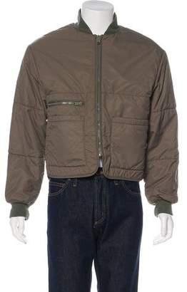 Yeezy Season 3 Puffer Bomber Jacket w/ Tags