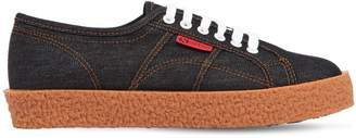 Superga 30mm Mega Paura Denim Sneakers
