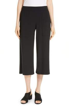 Eileen Fisher Patch Pocket Crop Pants