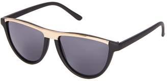 Topshop Slash Flat Brow Cat Eye Sunglasses