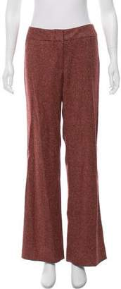 Yigal Azrouel Mid-Rise Wool Pants