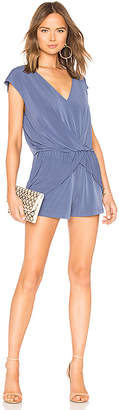 BCBGeneration Overlapping Pleated Romper