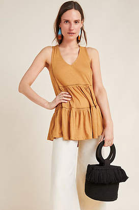 Anthropologie Malaga Tiered Tunic