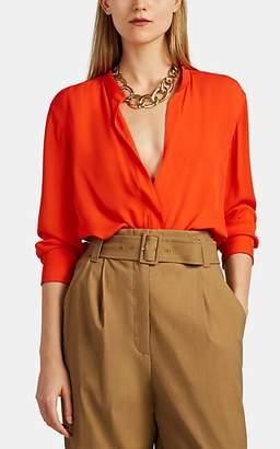 A.L.C. Women's Luca Silk Blouse - Red