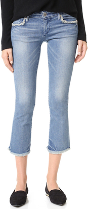 True Religion Karlie Bell Bottom Crop Jeans $199 thestylecure.com