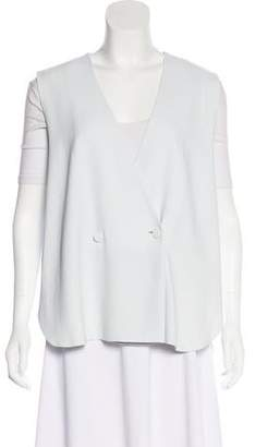 Alexander Wang Flounced Button-Up Vest