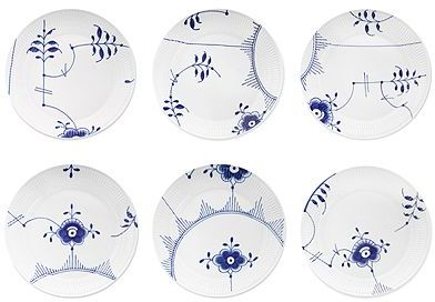 Royal Copenhagen Blue Fluted Mega Dinnerware Collection