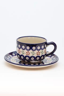 Polish Pottery ポーリッシュポタリー カップ&ソーサー