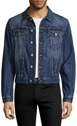 Alexander McQueen Studded & Faded Jacket