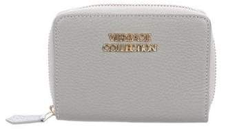 Versace Grained Leather Wallet