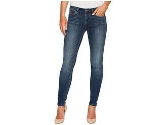 Vince Camuto Indigo Five-Pocket Skinny Jeans in Mid Vintage