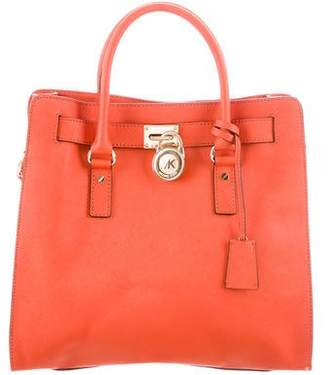 MICHAEL Michael Kors Hamilton Leather Bag