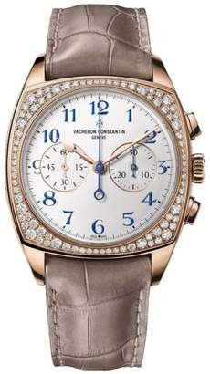 Vacheron Constantin 5005s/000r-b053 Harmony 18K Rose Gold Diamond 37mm x 46.6mm Watch $65,000 thestylecure.com