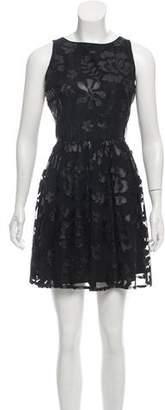 BB Dakota Embroidered Mini Dress