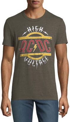 Chaser Men's AC/DC High Voltage Graphic T-Shirt