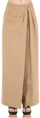 Salvatore Ferragamo Cotton Canvas Pants
