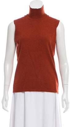 Hermes Cashmere Sleeveless Knit Top