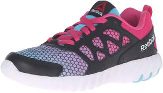 Reebok Kids Twistform Blaze 2.0 Fade Running Shoe, Crisp Blue/Rose Rage/Black, M US Big Kid