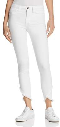 Joe's Jeans The Charlie Ankle Tulip-Hem Jeans in Hennie