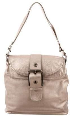 Marni Metallic Grained Leather Shoulder Bag