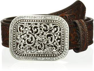 Ariat Women's Scroll Embossed Buckle Belt